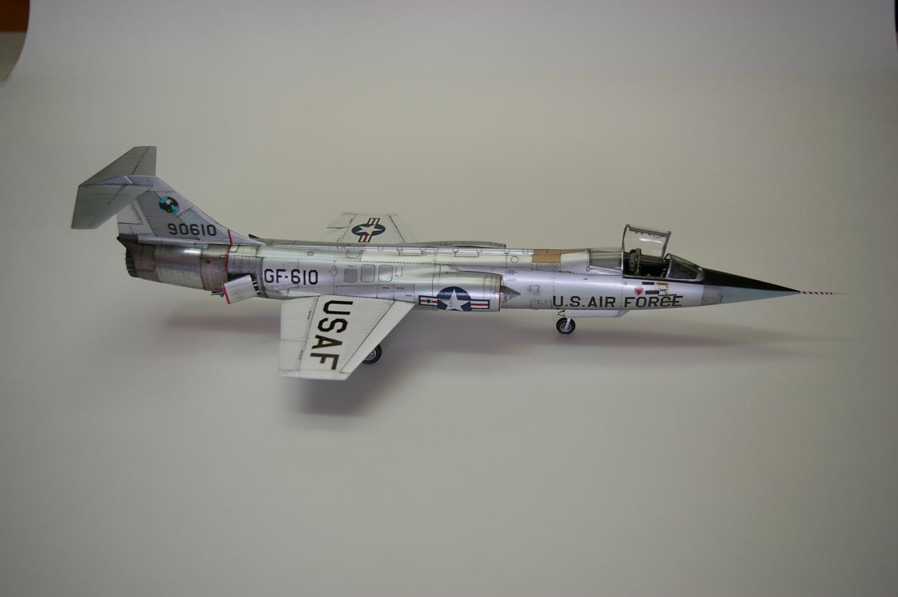 Buid Your Own Airplane Model - F-104 Starfighter